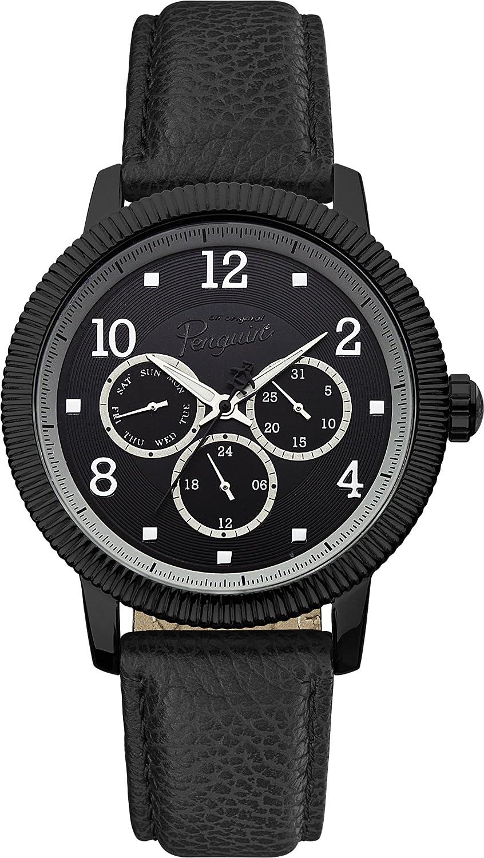Original Penguin OP5008BK - Reloj analógico de Cuarzo para Hombre ...