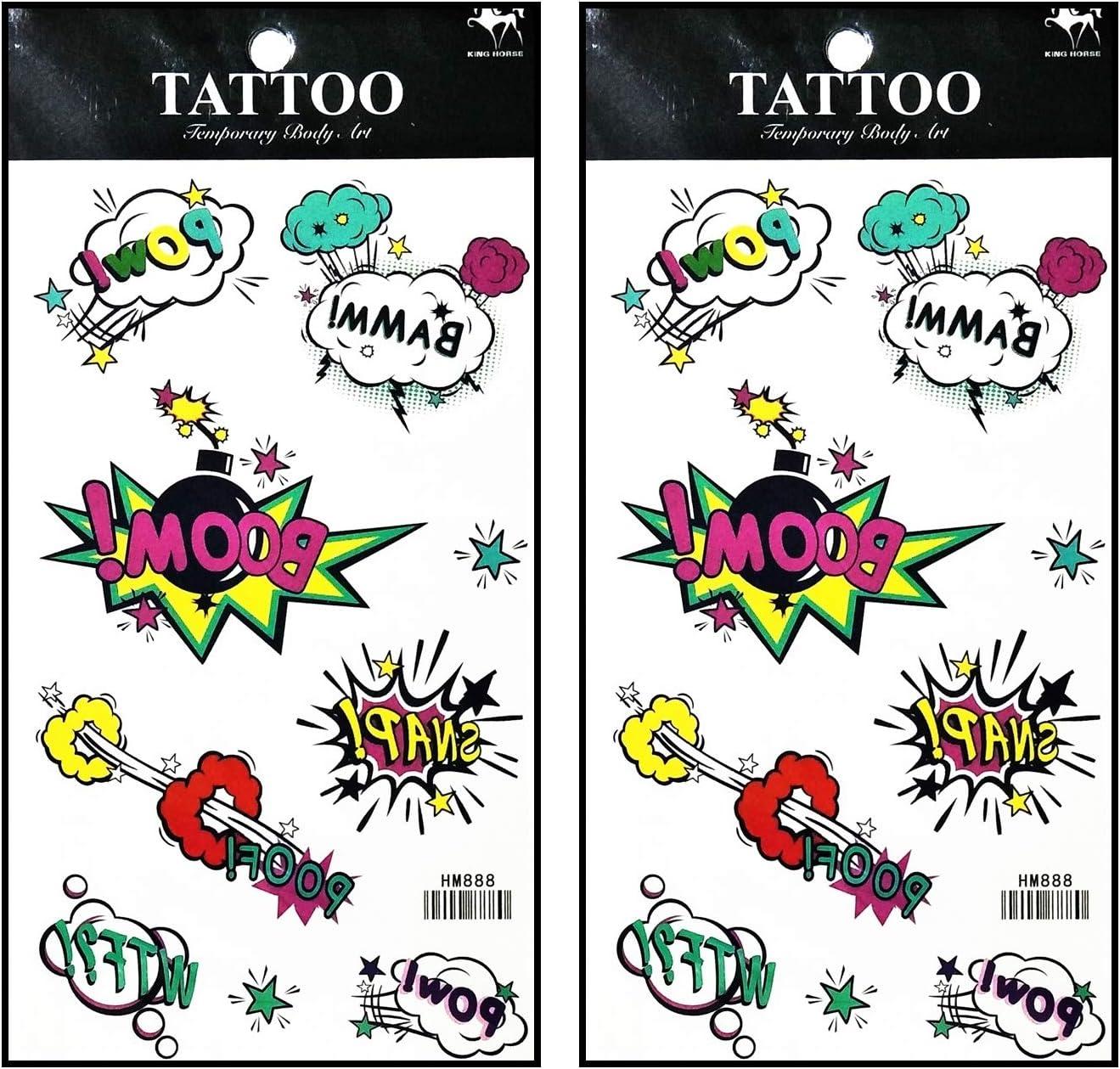 Tattoos 2 hojas media luna sobre sol estrella vampiro fantasma ...