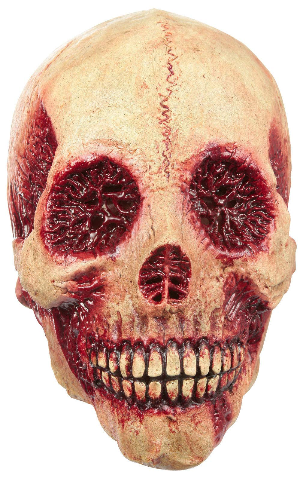 Ghoulish Productions Bloody Skull Mask Adult Full Over the Head Latex Mask Halloween