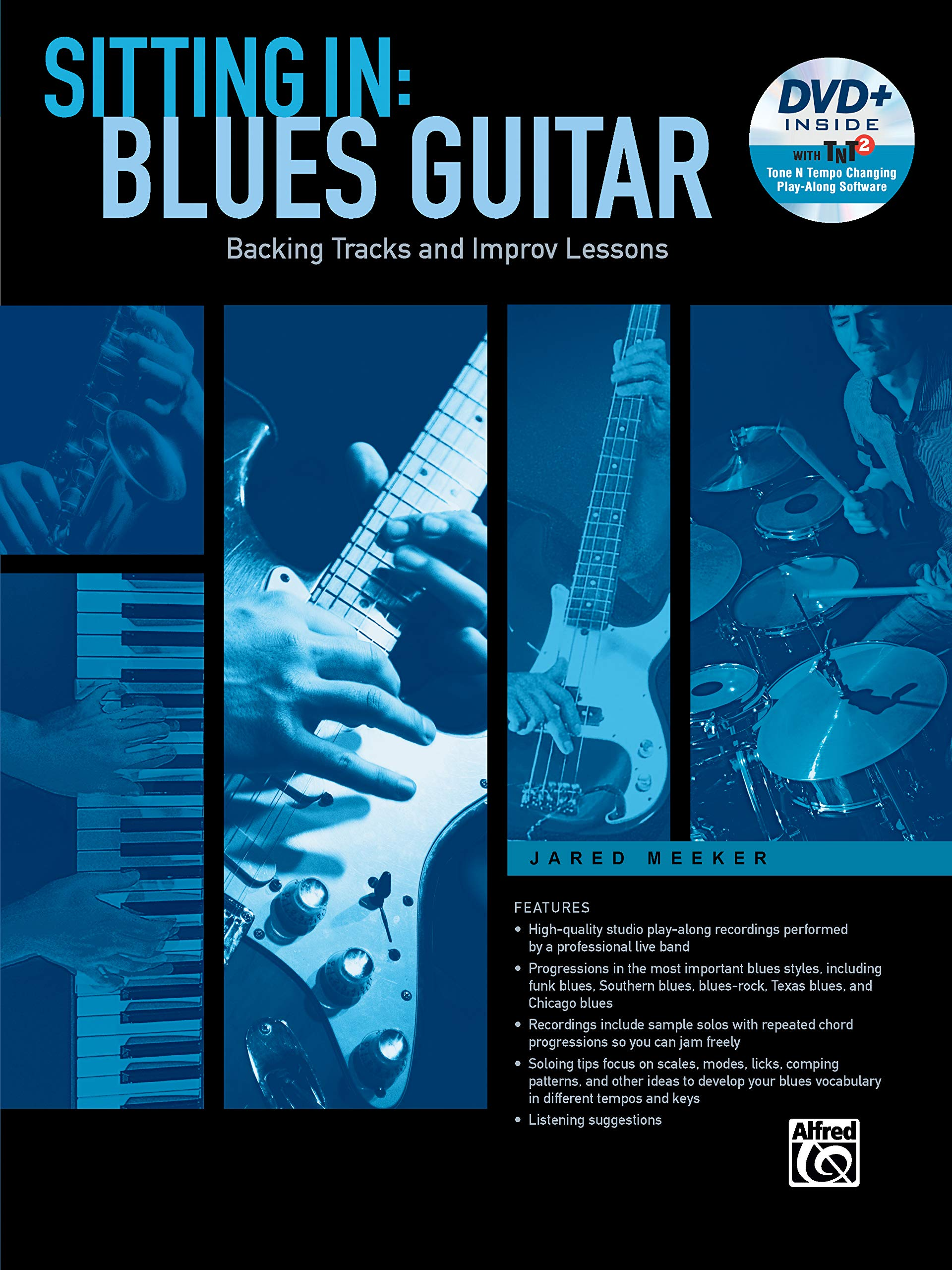 Sitting in -- Blues Guitar: Backing Tracks and Improv Lessons ...