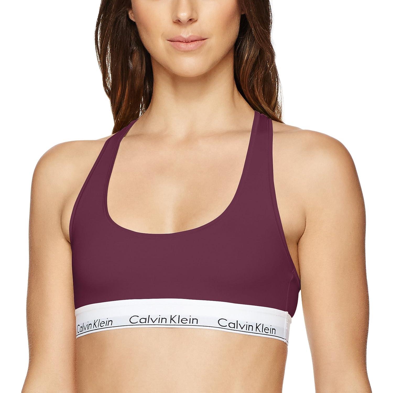 Calvin Klein Underwear レディース コットンブラジャー Modern Cotton Bralette F3785 B06WP7FYQX Medium|Brazen Brazen Medium