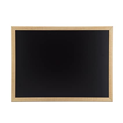 amazon com u brands chalkboard 23 x 17 inches oak frame office