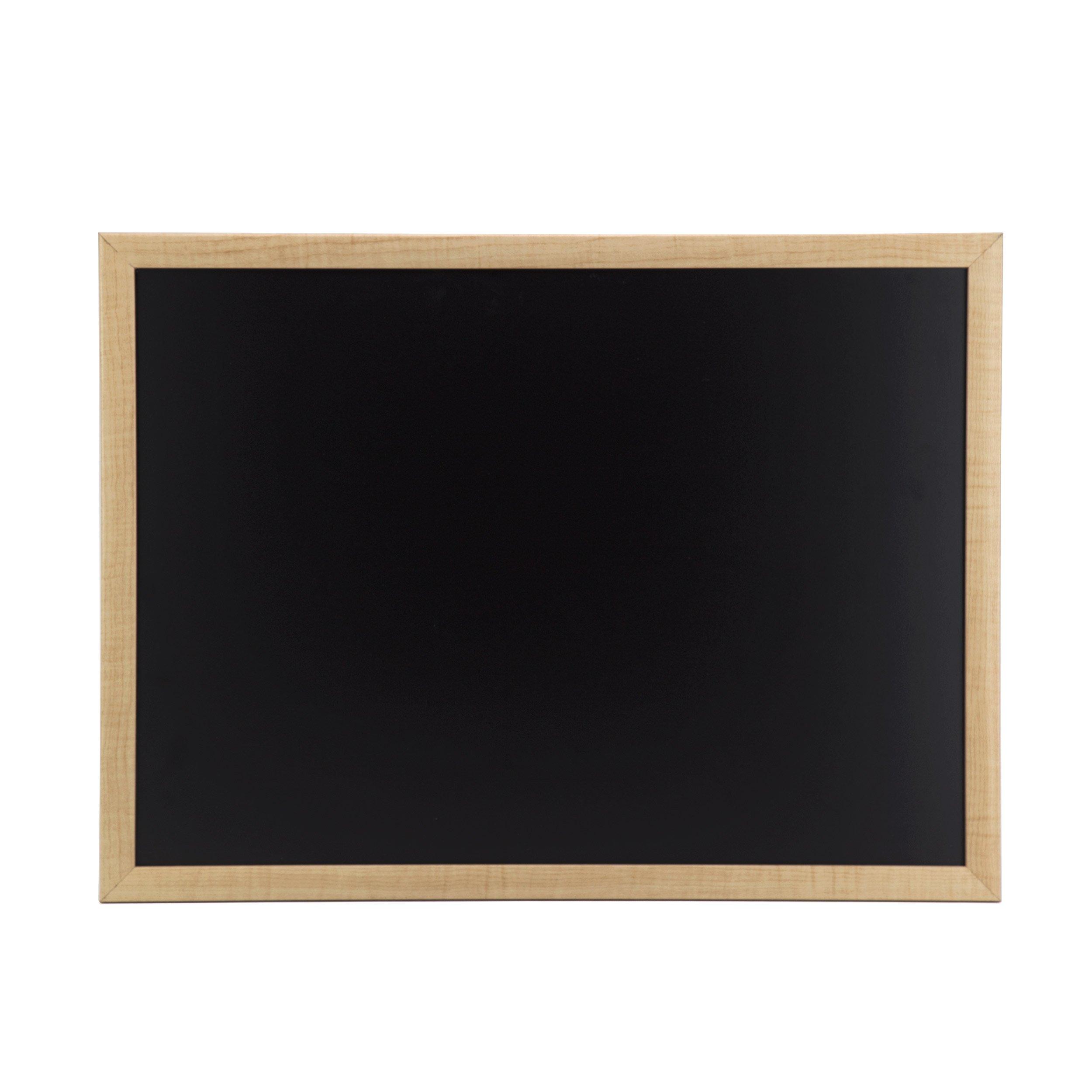 U Brands Chalkboard, 23 x 17 Inches, Oak Frame