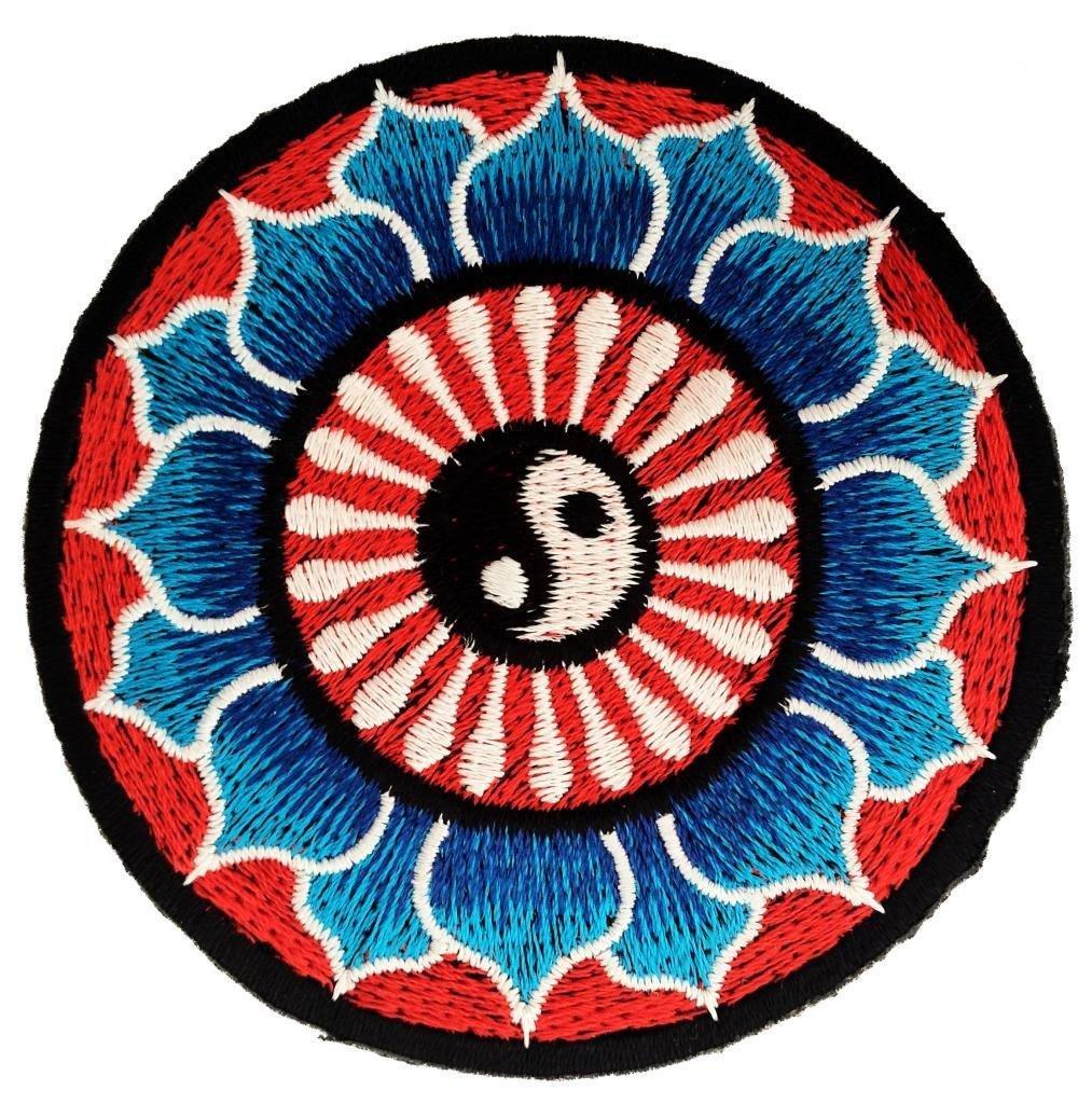 belle bleu de lotus yin yang yin et le yang mditation spirituelle indoue hippie yoga inner