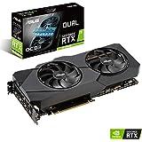 ASUS Dual GeForce RTX 2070 Super EVO OC Edition 8GB GDDR6 - Tarjeta gráfica (Ventiladores Axial-Tech, Tecnología Auto…