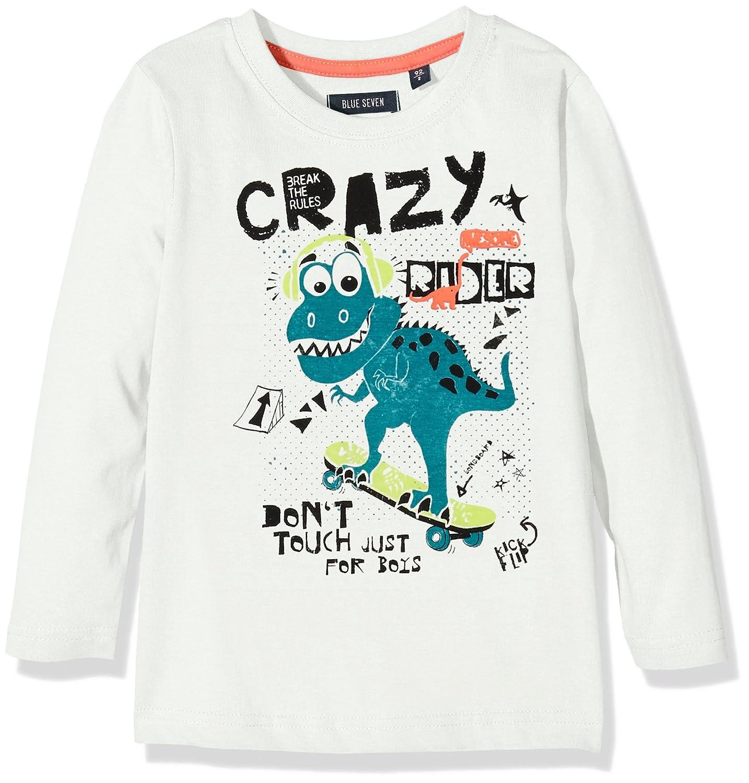 Blue Seven Kl KN RH, T-Shirt Bambino Blue Seven kl KN T-Shirt Weiß (Offwhite Orig 010) 5 Anni 850518 X