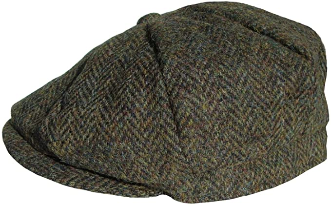 5c963ad6c3b Harris Tweed Bakerboy Cap  Amazon.co.uk  Clothing