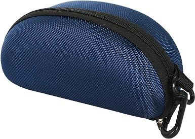 TRIXES Estuche Moldeado Protector para Gafas de Sol Color Azul Oscuro a Cremallera: Amazon.es: Zapatos y complementos