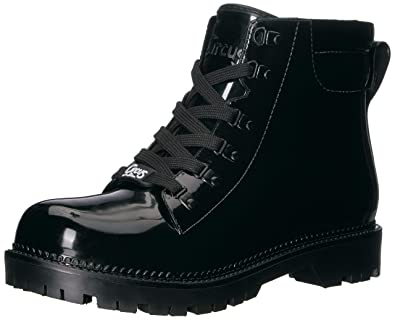 9d77ec4e0578 Circus by Sam Edelman Women s Kascade Rain Boot Black Shiny PVC 5 ...