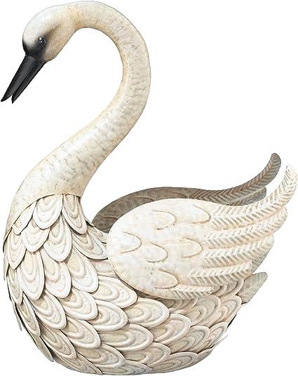 Swan Ornament Animal Sculpture Figurine statue Gift 30CM