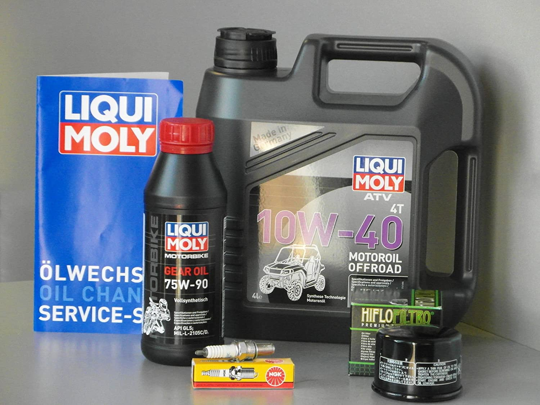 Wartungs Set Atv Quad Kymco Mxu 500 4x4 2x4 Inspektion Oelfilter Kerze Auto