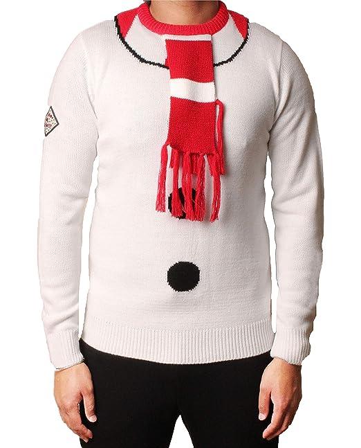 Uomo Le signore Natale Saltatore 3D Natale Novità Ho ho ho Babbo Elfo Renna Pupazzo  di 409afdfbc8c