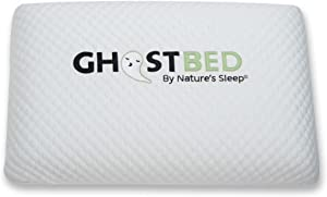 GhostBed Luxury Memory Foam Ghost Pillow (1 Pack),