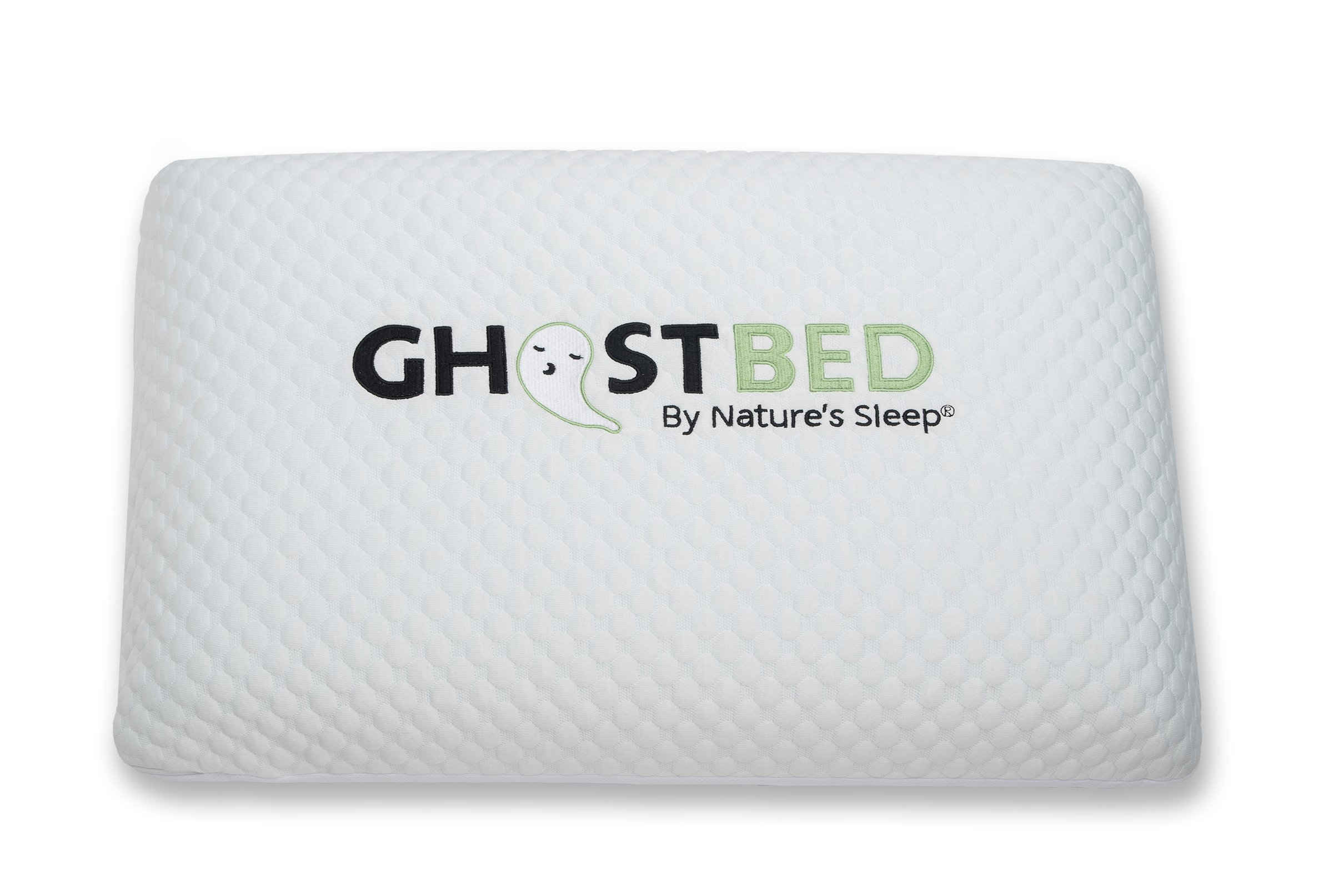 Ghostbed 11GBPW010 Luxury Memory Foam Ghost Pillow (1 Pack), Standard