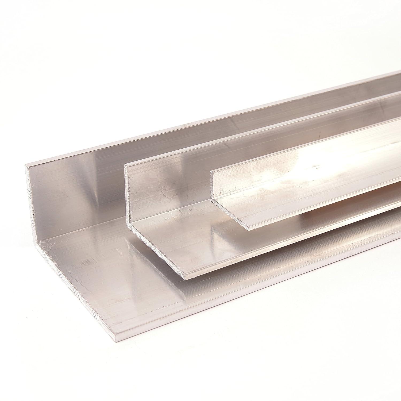 Aluminium Winkel Winkelprofil Aluprofil ungleichschenklig, Oberflä che blank gezogen, Abmessung 40 x 20 x 3 Lä nge 1000 mm Vornwald Systems