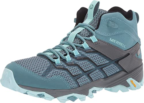 merrell moab fst waterproof light trail shoes - mens room