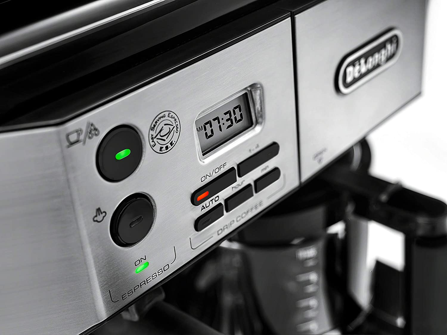 DeLonghi BCO430BM Combination Pump Espresso and 10c Drip Coffee Machine with Advanced Cappuccino System
