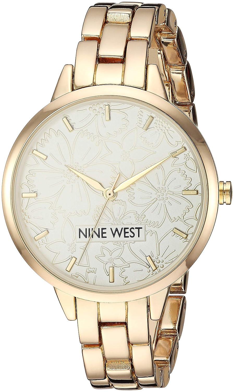 Amazon.com: Nine West Womens NW/2226RGRG Rose Gold-Tone Bracelet Watch: Watches