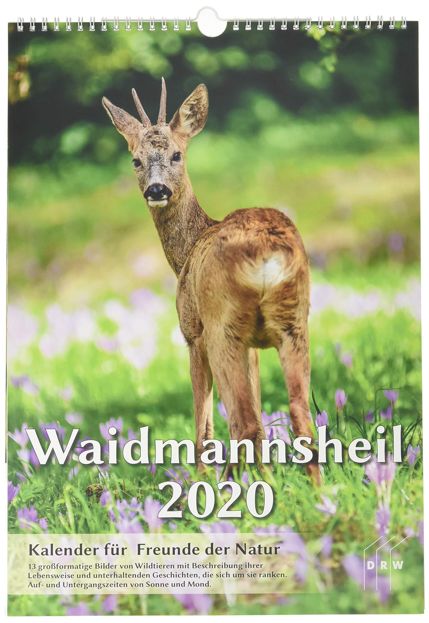Waidmannsheil 2020  Kalender Für Freunde Der Natur