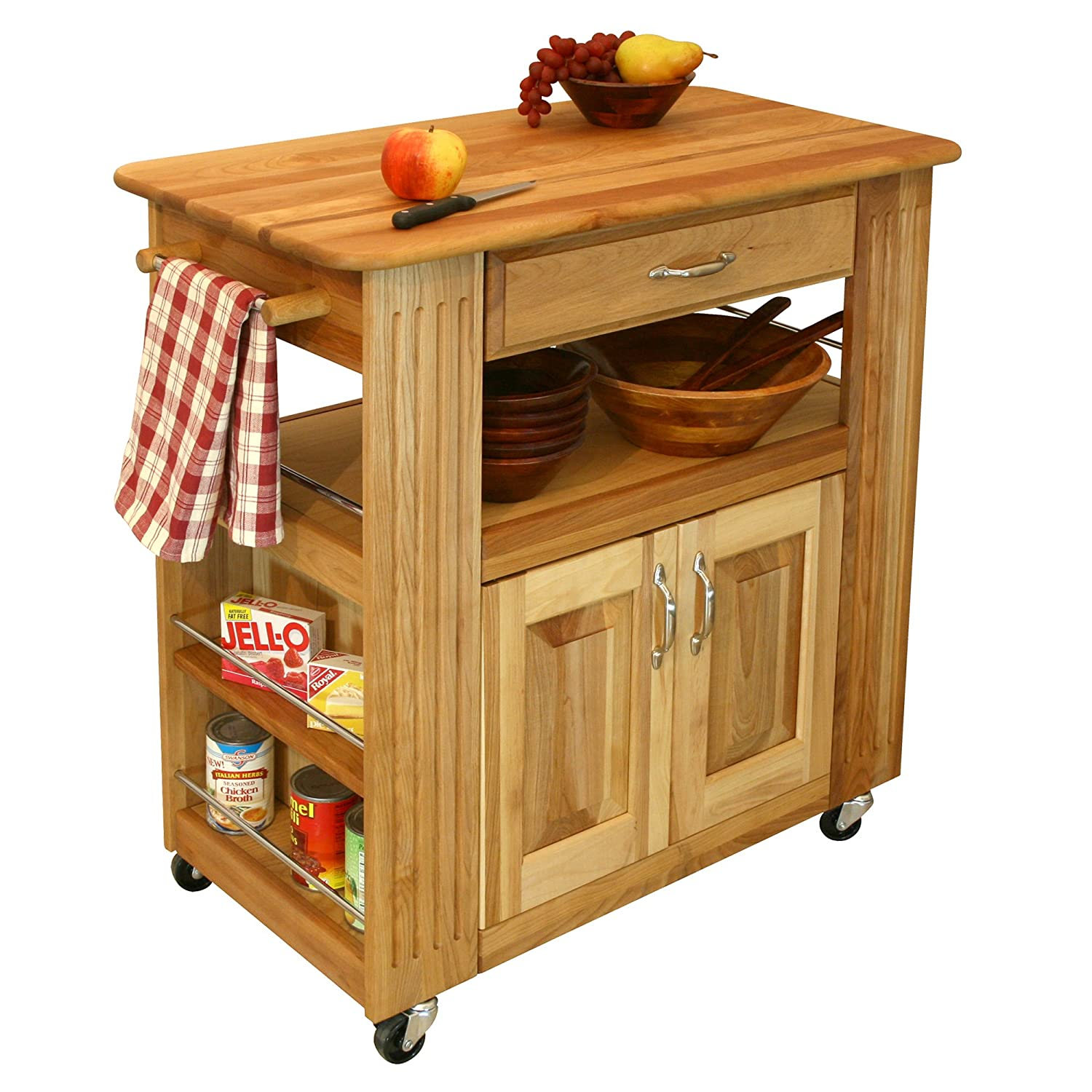 Oak Kitchen Carts And Islands Amazon catskill craftsmen heart of the kitchen island bar amazon catskill craftsmen heart of the kitchen island bar serving carts workwithnaturefo