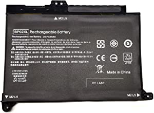 Binger Brand New BP02XL Replacement Laptop Battery Compatible With HP Pavilion Notebook PC 15 15-AU010WM 15-AU018WM Series Laptop Fit HSTNN-UB7B BP02041XL HSTNN-LB7H 2ICP7/65/80 849569-542