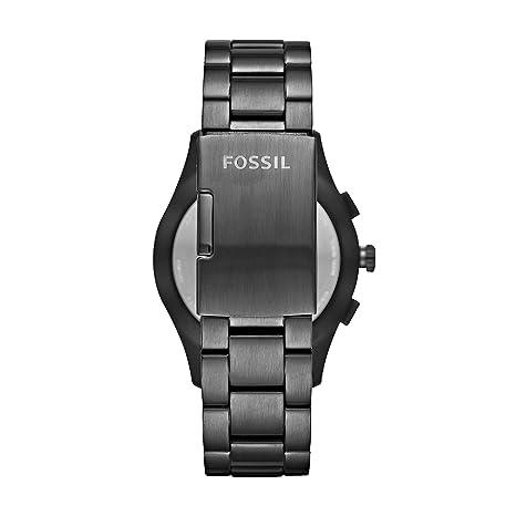 Fossil Homme Analogique Quartz Montre connectée avec Bracelet en Acier Inoxydable FTW1207: Amazon.fr: Montres