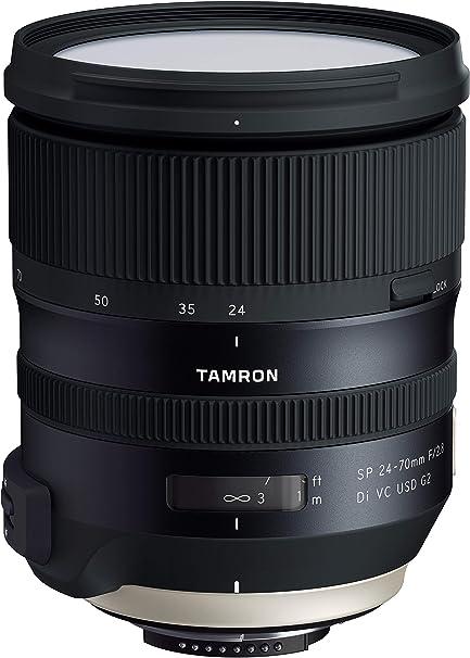 Tamron Sp 24 70mm F 2 8 Di Vc Usd G2 Objektiv Für Nikon Kamera