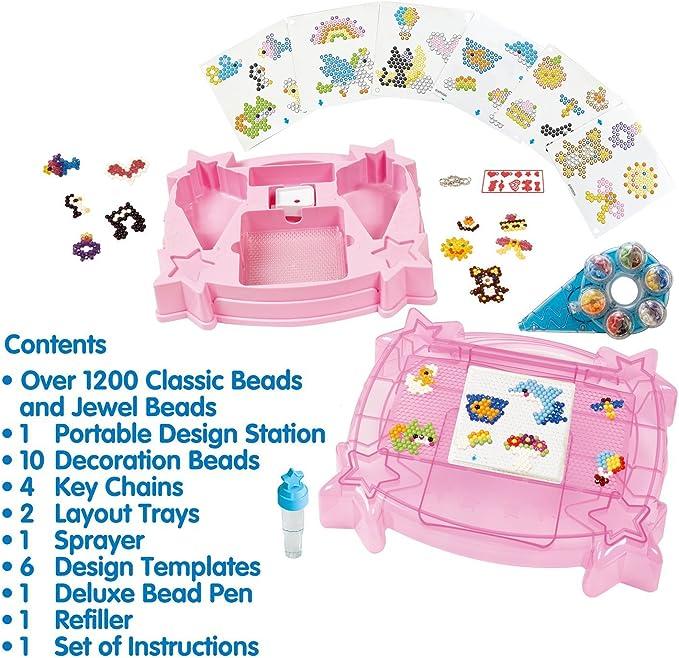 Aquabeads 31539 - Kinder Bastelset - Ultimate Deluxe Studio: Amazon.es: Juguetes y juegos