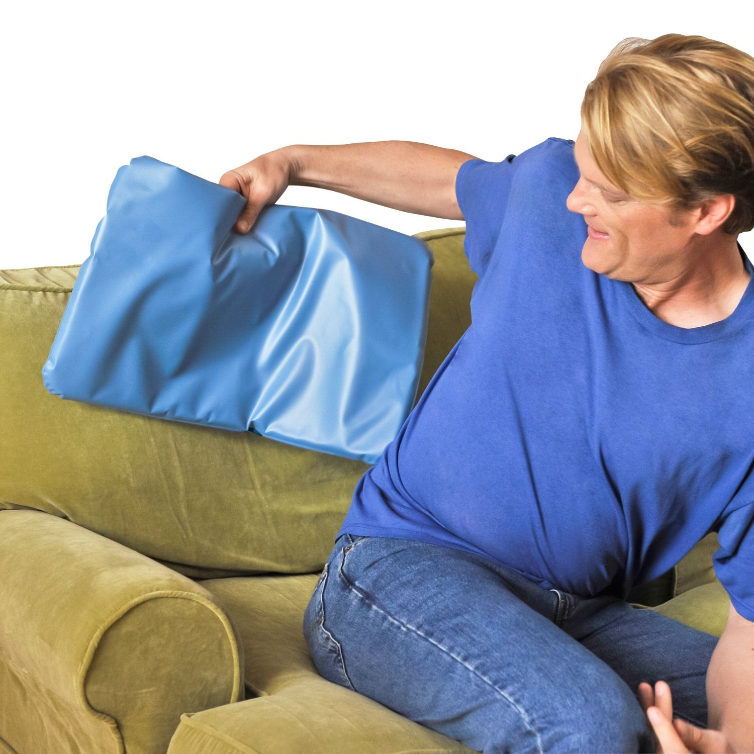 Chillow Cooling Pillow for a Relaxing, Restful Sleep by Hampton Direct