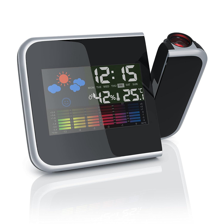 81qnw3zxH1L._SL1500_ Elegantes Uhr Mit Temperaturanzeige Dekorationen