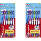 Colgate Extra Clean Toothbrush Full Head, 6 Count
