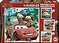 Educa 14942 Cars 2 - Puzzle (4 unidades, 20 piezas)