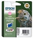 Epson T0796 Cartouche d'encre d'origine Claria magenta clair pour SP 1400