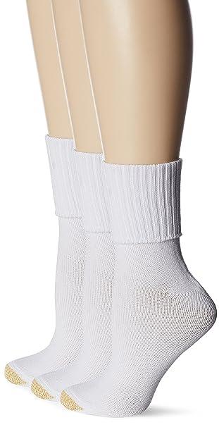 efdabc373cc Gold Toe Women s Plus-Size Bermuda Socks (Pack of 3)