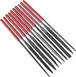 10Pcs Needle File Set Hardened Alloy Strength Steel Files- Mini Needle