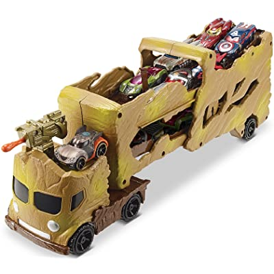 Hot Wheels Marvel Comics Groot Hauler Vehicle: Toys & Games