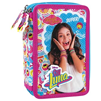 Derform - Caja de lápiz con tres cámaras de soja, Soy Luna ...