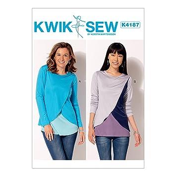 KWIK-SEW PATTERNS Kwik Sew Mustern Kwik Sew Muster k4187os ...