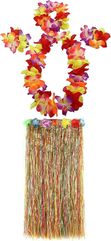 AniiKiss 1 Set 80cm Adult Party Hawaii Dress Hula Grass Skirt