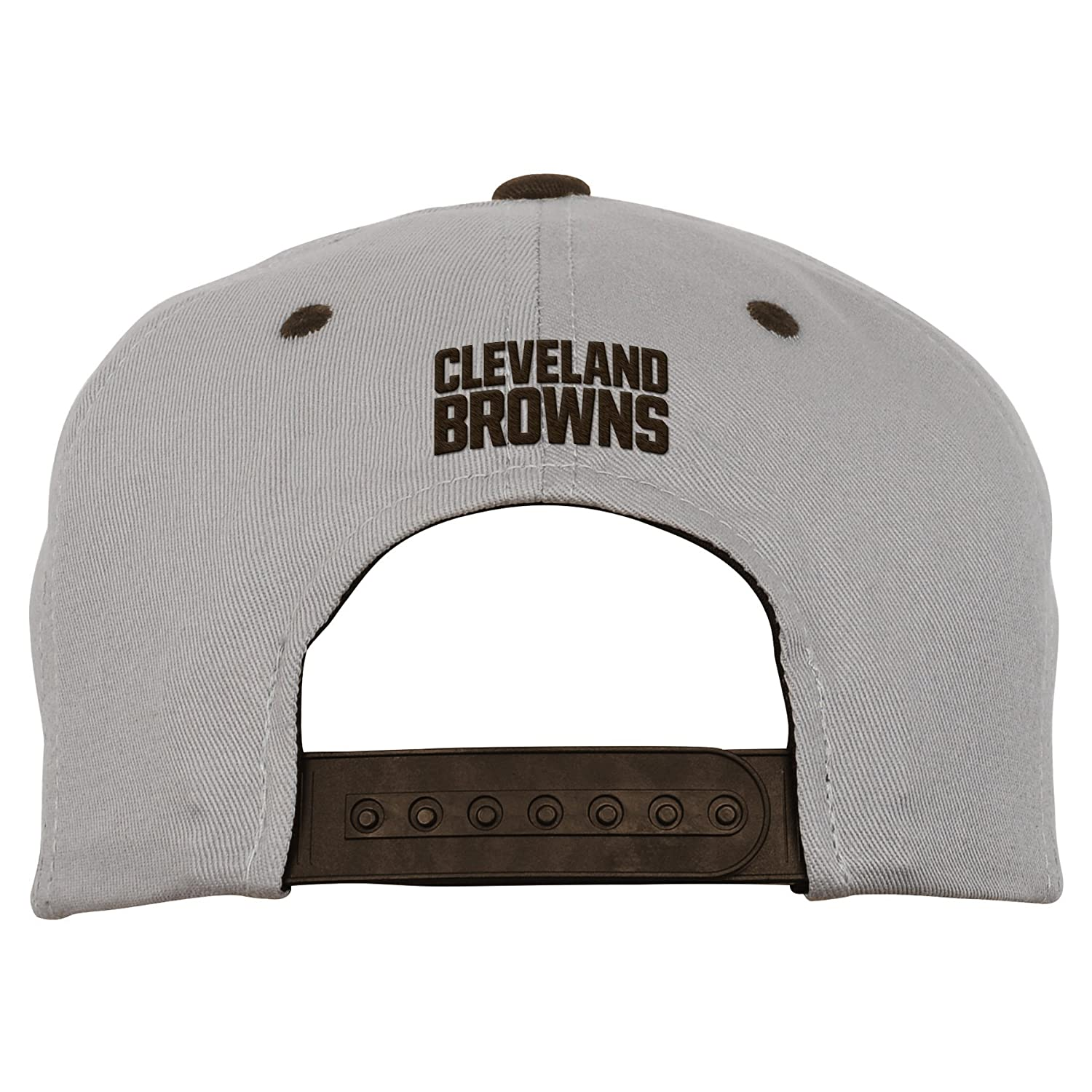 2acec20fd Amazon.com : Outerstuff NFL Youth Boys Team Flatbrim Snapback Hat-Brown  Suede-1 Size, Cleveland Browns : Sports & Outdoors