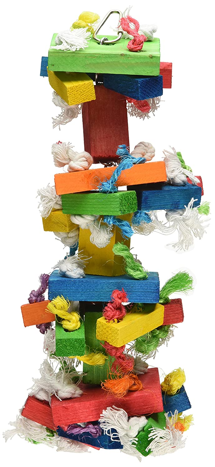 Paradise 4 by 13 Inch Knots Block Chewing Toy Medium