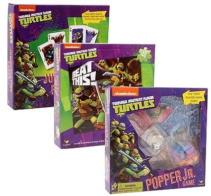 Amazon.com: Teenege Mutant Ninja Turtles Games Bundle Pack ...