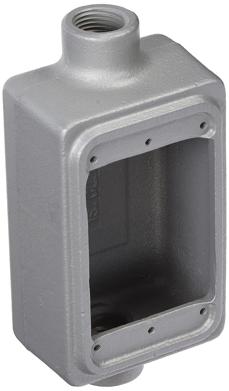 "10 AVAIL 1 NEW APPLETON FSA-1-50 FSA150 CAST DEVICE BOX 1//2/"" SINGLE GANG"