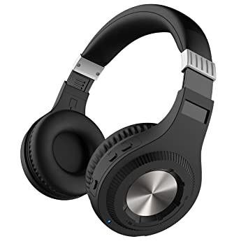 sharper image. sharper image sbt561gy bluetooth wireless headphones with on-ear volume dial, built-in 0