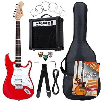 Rocktile Banger\'s Power Pack Komplettset E-Gitarre mit Single Coil ...