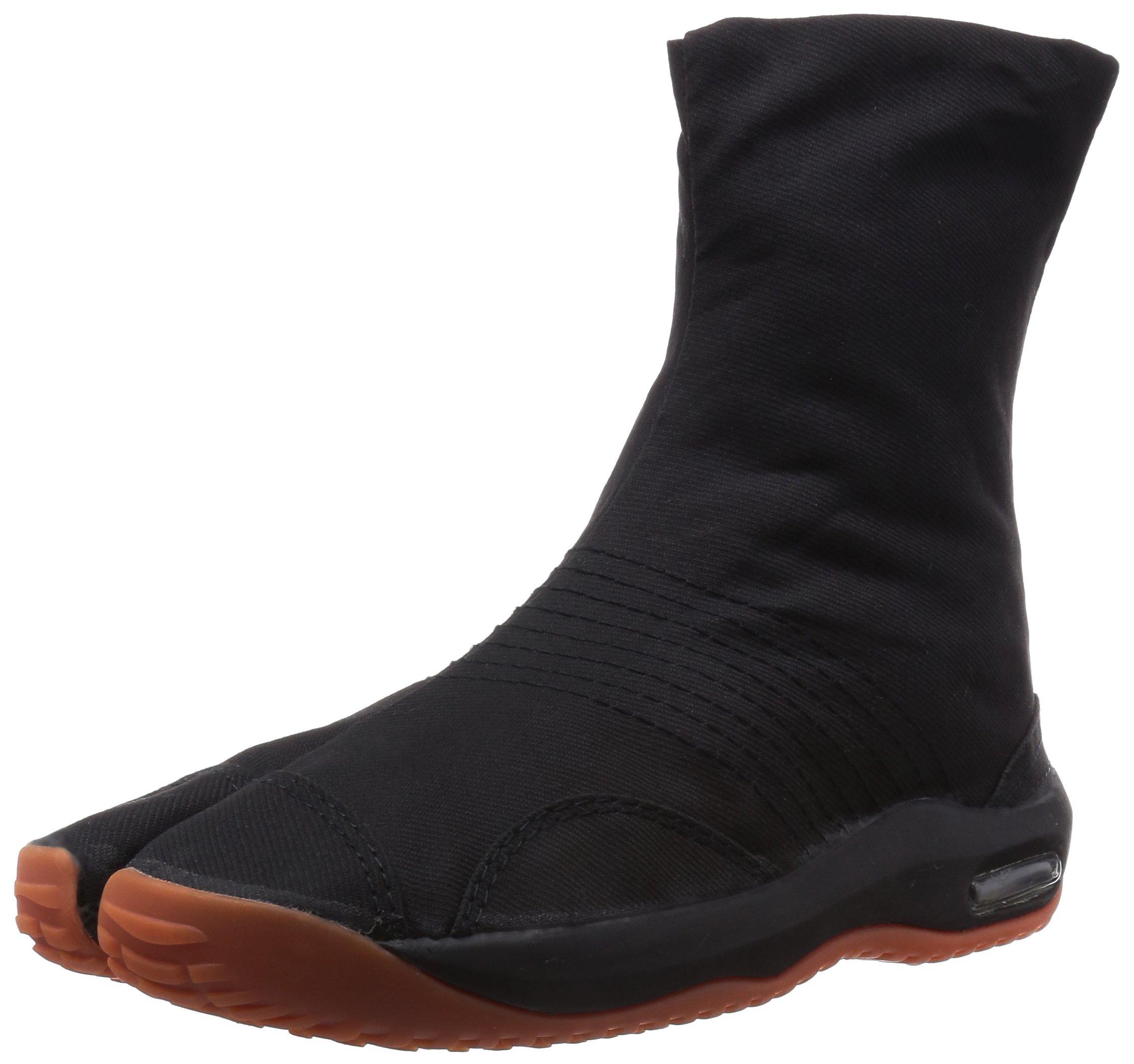 Marugo Air Jog Tabi Ninja Boots 6 Clips 3 Colors (26.0 cm, Black)