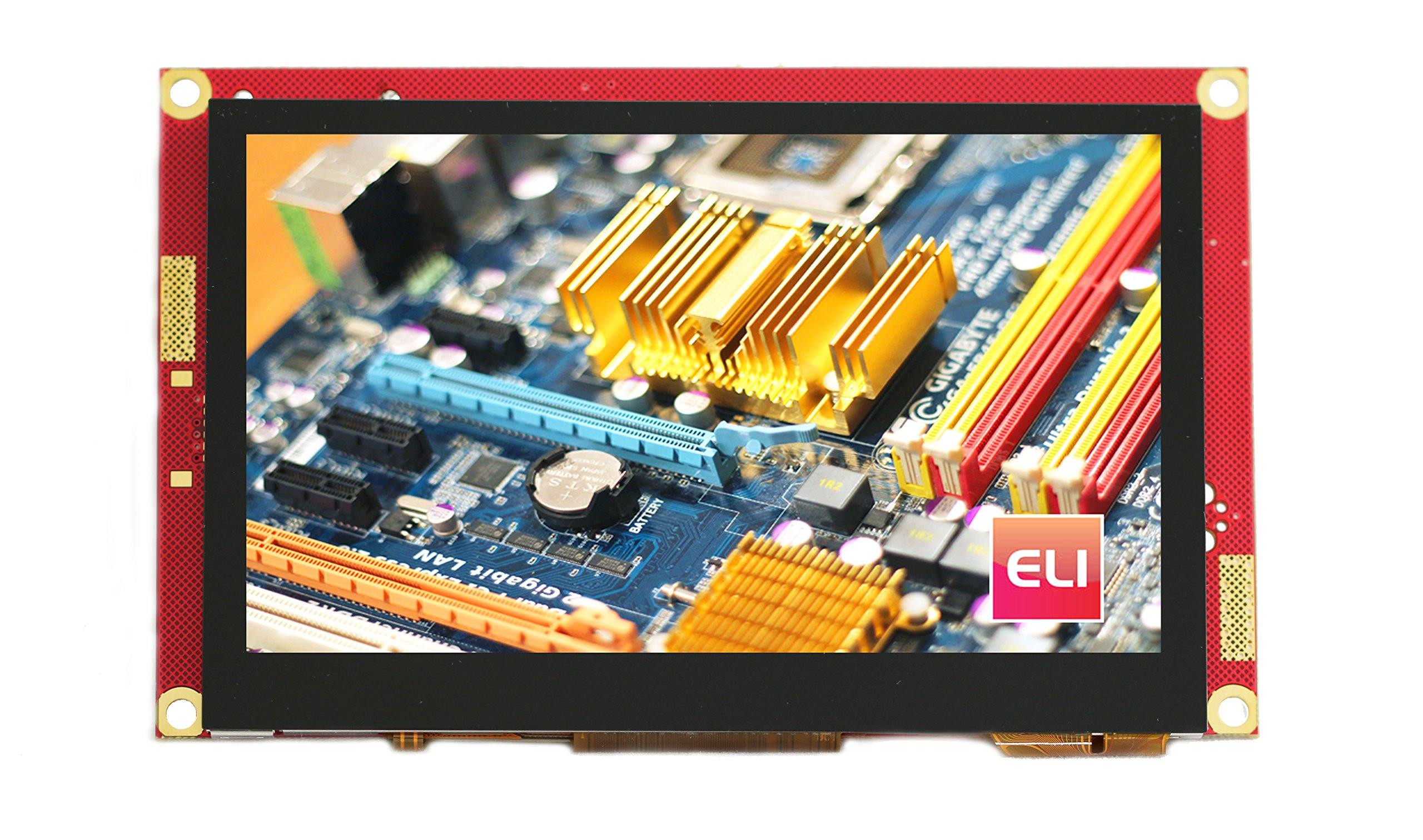 ELI 4.3'' HDMI PCAP Touch screen 480x272 WQVGA LCD - Plug and Play