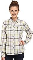 Columbia Women`s Camp Henry Long Sleeve Shirt, S, SUNNY SIDE