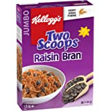 Kellogg's Two Scoops Raisin Bran Cereal, 1150g