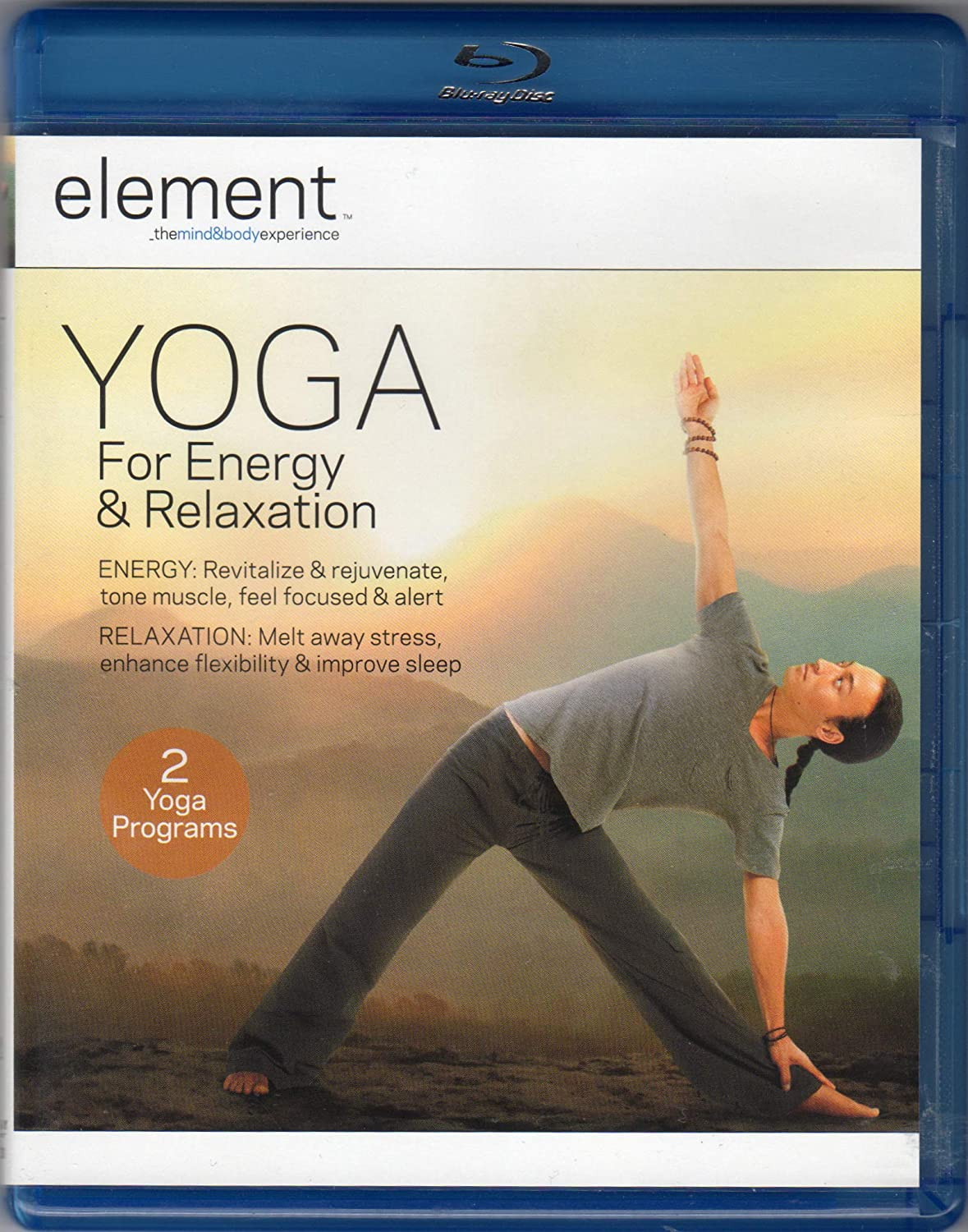 Element: Yoga for Energy & Relaxation [USA] [Blu-ray ...